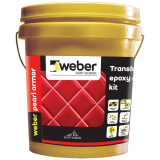 Translucent Epoxy Grout-Weber Pearl Armor