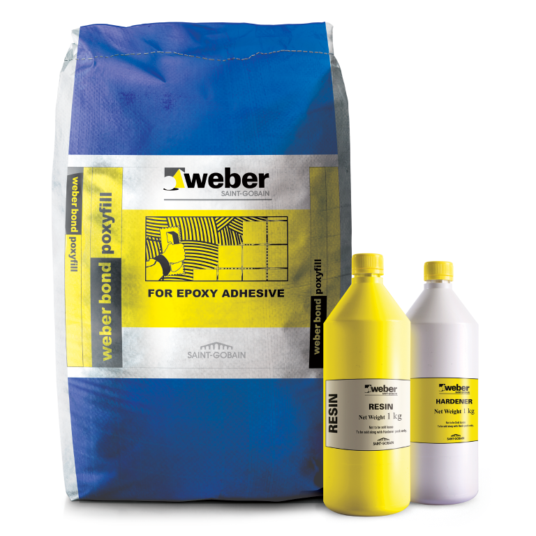 Tile Adhesive for Metal Glass-Weber Epoxy Adhesive