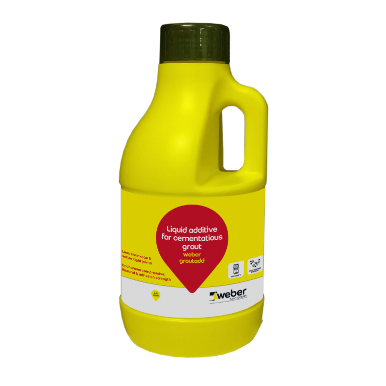 grout add 350 ml